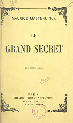 Le grand secret (French Edition)