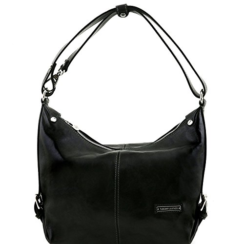 Tuscany Leather Sabrina - Sac boule en cuir - TL141479 (Noir) Noir
