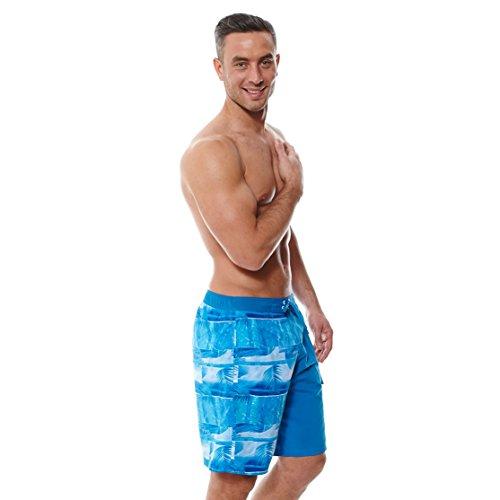 Zoggs Coorang Men's Swimming Shorts Blau - Multi-Colour/Blue