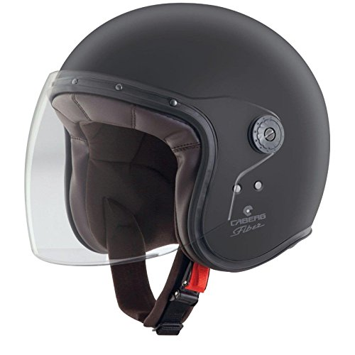 Casque de moto CABERG Freeride Matt Black/White