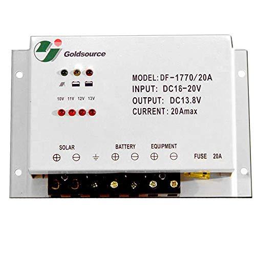 Heimwerker Capable Votronic Solar-regler Mpp 165 Duo Dig 10a