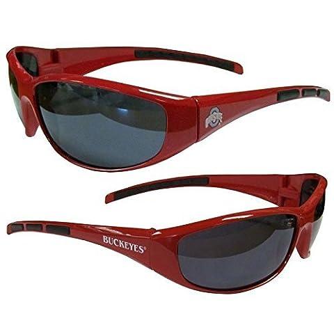 NCAA Ohio State Buckeyes Wrap Sunglasses by Siskiyou