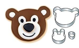 Wilton Stackable Bear Cookie Cutter Set
