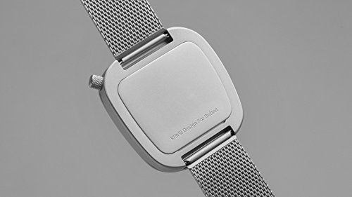 (2) · Bulbul Pebble Unisex Quartz Watch with White Dial Analogue Display  and Silver Stainless Steel Bracelet P06 6bcd60c16