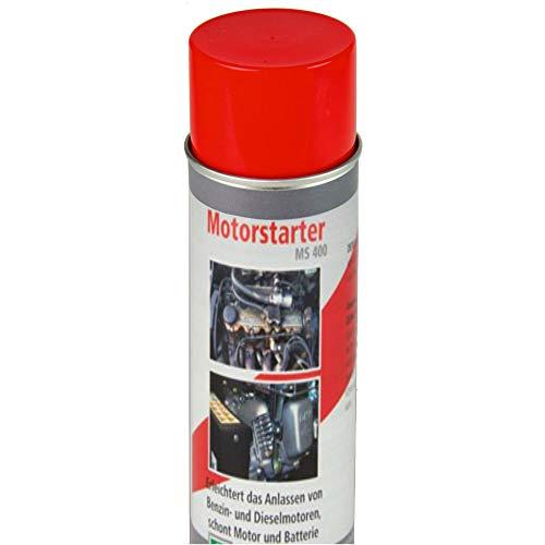 TronicXL Motorstarter Spray 400 ml Motor Stater Starterspray für Auto LKW Motorrad Wohnmobil Traktor Einachser Oldtimer PKW Starthilfespray Starthilfe Startspray Startpilot Kaltstarthilfe Srühdose