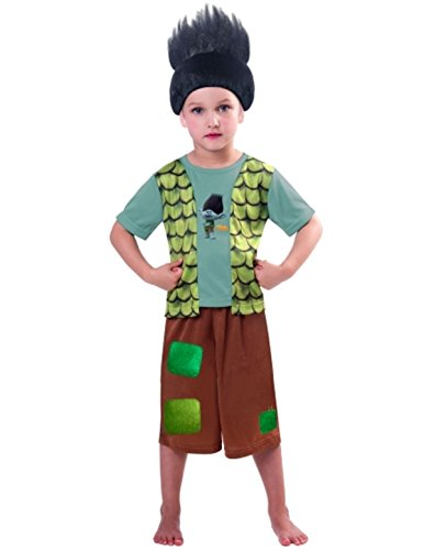 Child Boys Trolls Branch Costume Large