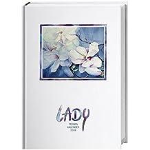 Lady Terminkalender A6 - Kalender 2018