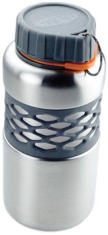 Gletscher Dukjug Premium Backcountry Edelstahl Wasser Flasche, edelstahl (Bekleidung Gletscher)