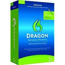 Nuance Dragon NaturallySpeaking 11 Premium, Wireless - Software de reconocimiento de voz (Wireless Dragon NaturallySpeaking, 2560 MB, 1024 MB, Intel Pentium, 1GHz)