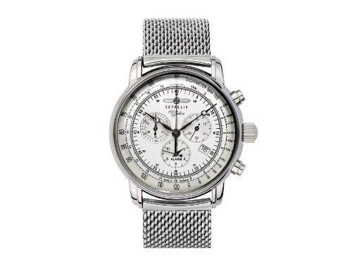 Zeppelin Watches–Reloj de cuarzo para hombre 7680M1con correa de metal por zeppelin relojes