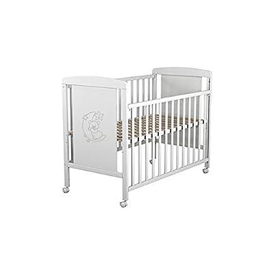 Cuna para bebé, modelo Oso Dormilón. Incluido el colchón