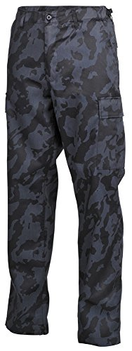 MFH Herren US Kampfhose BDU, night-camo
