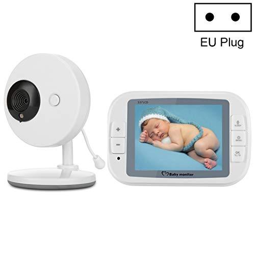 IP-Cameras Camaras de Seguridad Pantalla de 3,5 Pulgadas Pantalla más  Grande inalámbrica Monitorización Digital Cámara Baby Career Monitor
