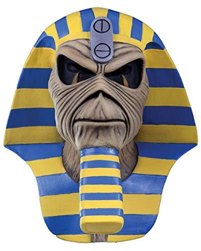 Horror-Shop Powerslave Pharao Iron Maiden Maske für Fans & Sammler (Iron Maiden Eddie Kostüm)