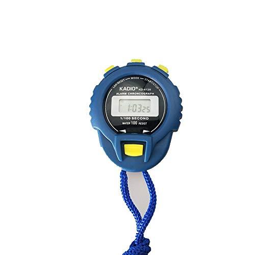 WYUE Elektronischer Timer, Outdoor Sports Timer - Kunststoff, Leichtathletik Wettbewerb Elektronische Stoppuhr Stoppuhr-Blau (2Stk.) -