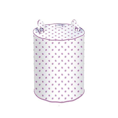 Rayen 2387.50 - Funda para bombona de butano, color blanca y lila