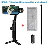 Feiyu SPG2 Axis Handheld Gimbal Stabilizer w/Focus Pull & Zoom for iPhone XS Max XR X...