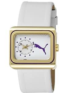 Puma Time Damen-Armbanduhr Change Gold Analog Quarz Leder PU102442004