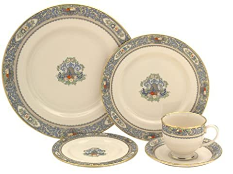 Lenox Autumn Gold-Banded Fine China 5-Piece Place Setting, Service for 1 by Lenox