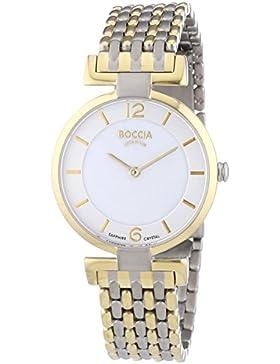 Boccia Damen-Armbanduhr XS Analog Quarz Titanium 3238-04