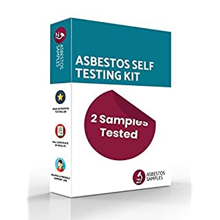 Asbestos Self Testing Kit | 2 Samples Tested | UKAS Accredited Lab Certificate | Industry Approved Protective Equipment | Fast Results