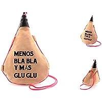 Bota de vino personalizada. Regalo/Bodas/San Valentín/Cumpleaños/Ella/Aniversario/EL