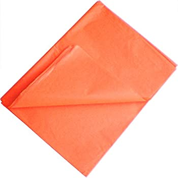 TtS 200 Sheets 35x45CM Tissue Paper ACID FREE Party Present Gift Wrapping - Burnt Orange
