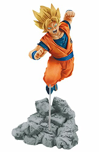 Banpresto - Figurine DBZ - Super Saiyan Goku Soul X Soul 10cm - 3296580259427