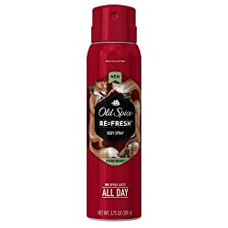 Old Spice Wild Collection Foxcrest Mens Body Spray 3.75 Ounce