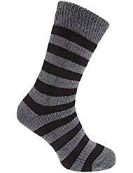 Feet Heaters Herren Thermo-Socken, gestreift