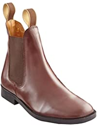 Loveson Grosvenor Tan Jodhpur - Calzado de botas de senderismo, color marrón / marrón claro, talla 8.5/ EU 42.5