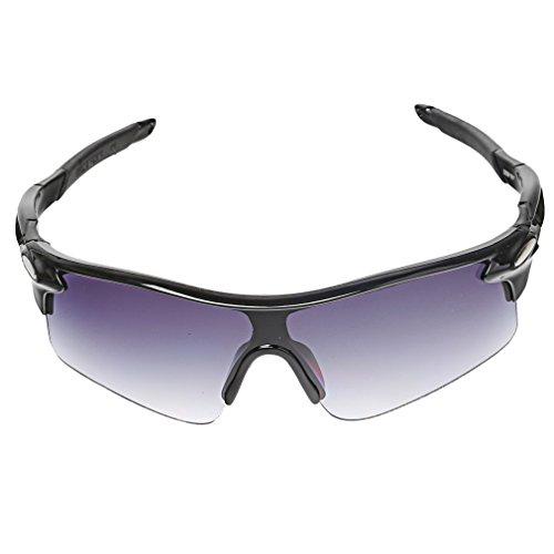 A-szcxtop Dazzle color reflectante moda deportes al aire libre Ciclismo para bicicleta Pesca Gafas de conducción gafas de sol gafas para hombre y mujer