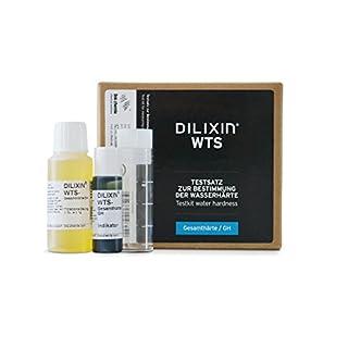 DILIXIN® WTS, Testsatz zur Bestimmung der Wasserhärte, Schnelltest zur Wasseranalyse für bis zu 100 Messungen