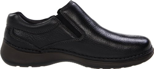 Hush Puppies Mens Lunar II Slip-On,Black,10 W US Black