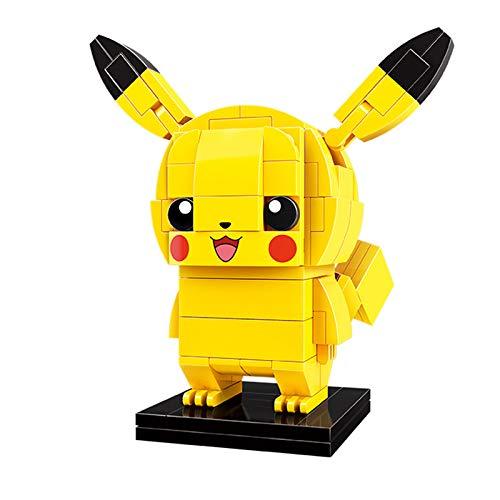 Q-Man Juego de Figuras de Pokemon (Juego de construcción de Ladrillos) Anime Modelo 3D Juguetes de construcción