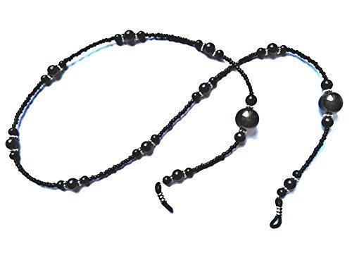 Hacoly Glas Perlen Brillenband Kordel Brillenketten für Damen Kinder Brillen Seil Accessoire Schnur...