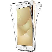 Coque Asus Gel Zenfone 4 Max Plus \ Max Pro ZC554KL (5.5 Pouces) , Buyus Coque Asus 360 Degres Protection INTEGRAL Anti Choc , Etui Ultra Mince Transparent ...