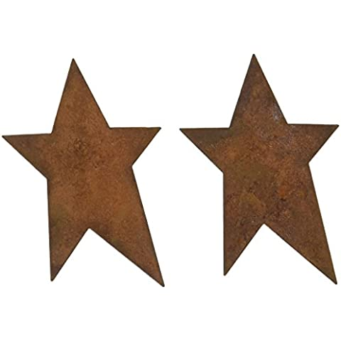 Rusty Tin-Tiques stagno Cut-Outs-Star 3