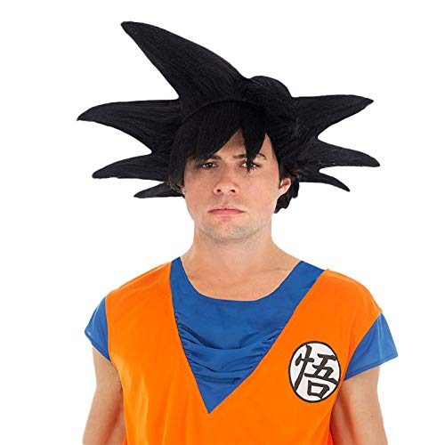 Son Goku Perücke- Dragon Ball Kostümzubehör ()