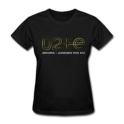 Huserd Women's U2 Innocence + Experience Tour Logo Short Sleeve T-shirt