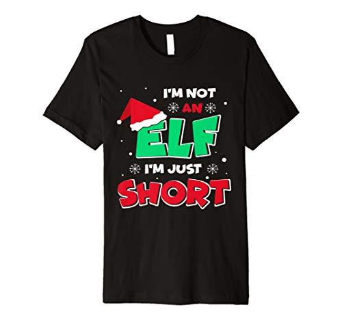 Ich bin nicht ein Elf, ich bin nur Short T-Shirt lustig Elf Geschenk Weihnachts