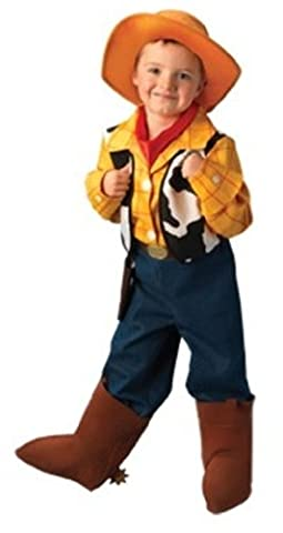 Disney - Toy Story - Déguisement de luxe Woody 5-6 ans