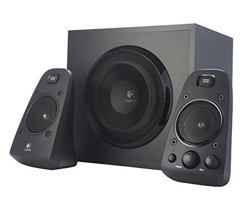 Logitech Z623 Soundsysteme 2.1 Stereo-Lautsprecher THX (mit Subwoofer) schwarz