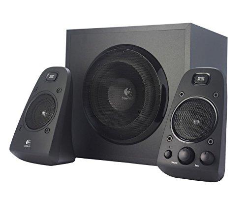 Pc-stereo-lautsprecher (Logitech Z623 Soundsysteme 2.1 Stereo-Lautsprecher THX (mit Subwoofer) schwarz)