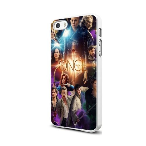 Coque iPhone 5 5S Case Blanc Once Upon A Time N5B1RA, coques iphone