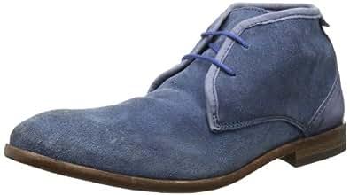 Hudson London Cruise 4613295 Herren Chukka Boots, Blau (Indigo), EU 45