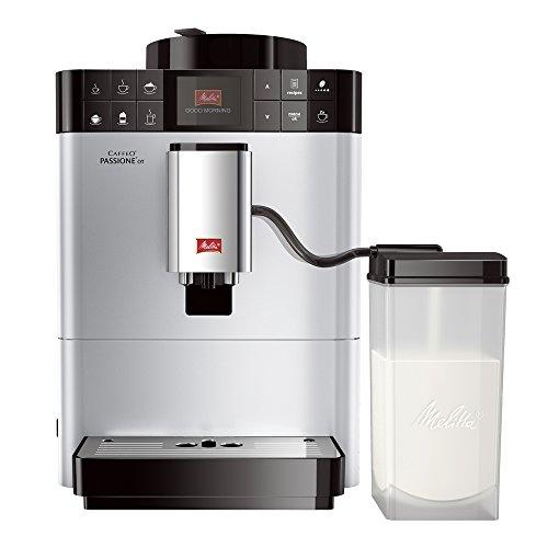 Melitta F53/1-101 Platzsparender Kaffeevollautomat Caffeo...