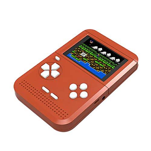 Gameboy Game Player 300 Jeu de Puzzle Classic Console pour Classiques Enfants Mémorial Spécial de Noël Console de Jeu Portable PS4 Poche (Rouge)