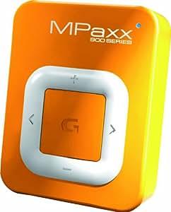 grundig mpaxx 920 tragbarer mp3 player 2 gb orange amazon. Black Bedroom Furniture Sets. Home Design Ideas