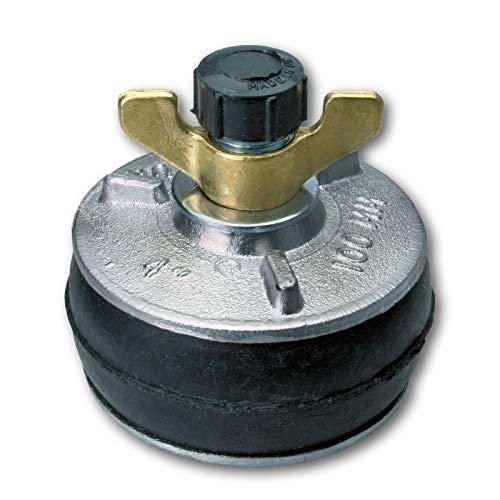 Absperrscheibe mit Bypass (Prüfscheibe) 100 mm